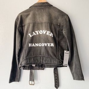 Laundry Room Layover Hangover Billy Jean Jacket